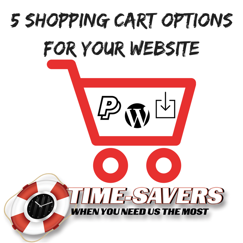Write a comment website shopping cart