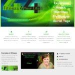 4 Fitness Website Design